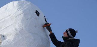 Снеговик. Фото: nzd22.ru
