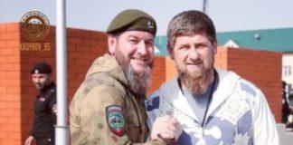 УМВД по Грозному возглавляет Аслан Ирасханов (слева), бывший начальник Полка патрульно-постовой службы имени Ахмата Кадырова. Фото: kadyrov._95