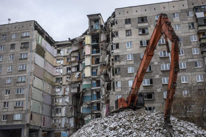 Взрыв в Магнитогорске. Фото: Влад Докшин / «Новая газета»