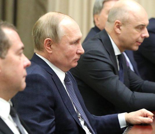 Путин, Медведев, Силуанов