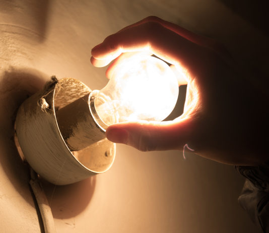 лампочка, электричество, свет