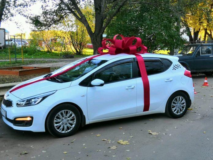 машина, автомобиль, подарок