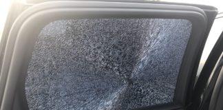 обстрел авто
