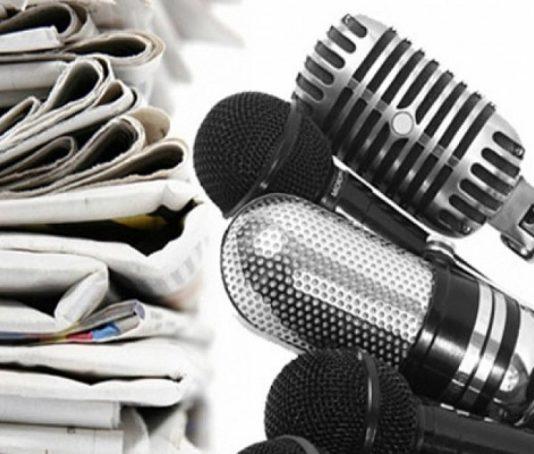 СМИ, журналисты, микрофон