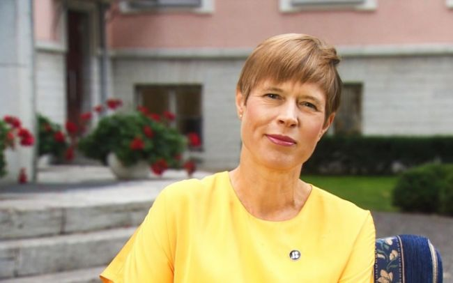 Керсти Кальюлайд, Эстония