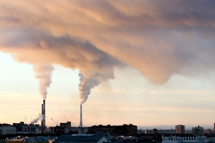 дым, смог, трубы, загрязнение воздуха