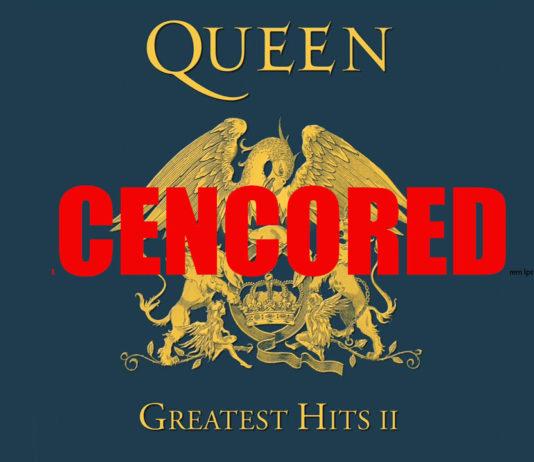 Queen, censored, цензура