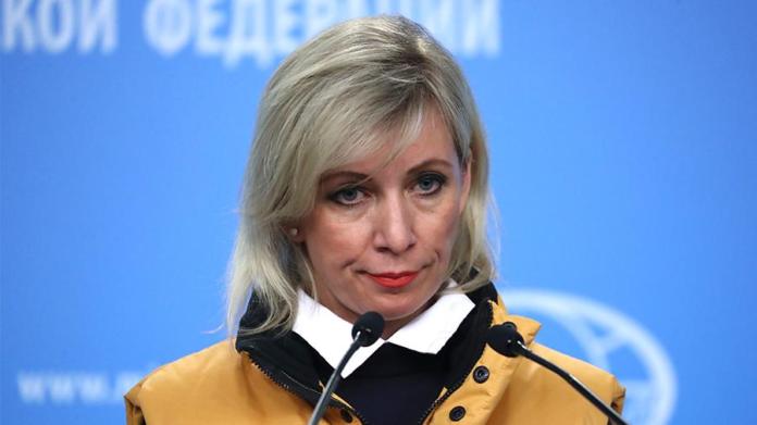 Мария Захарова, МИД России