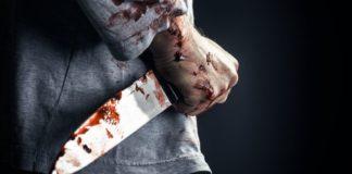 нож, убийство, кровь