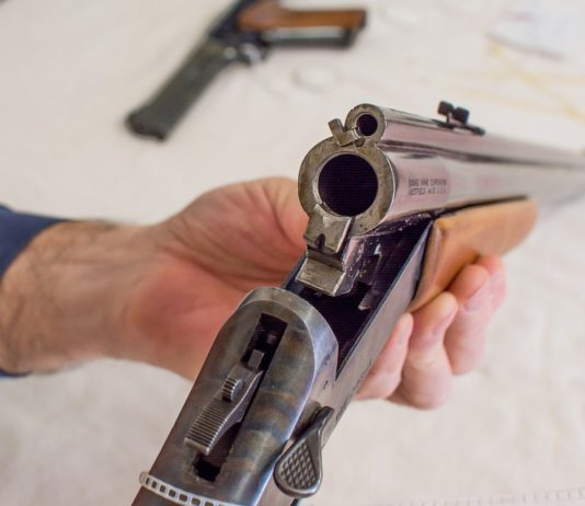 охотничье ружье, оружие
