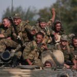 Российские военные у окраин Тбилиси