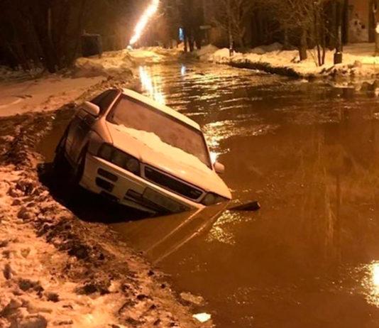 Коммунальная авария в Челябинске в марте 2021 года. Фото: 31tv.ru